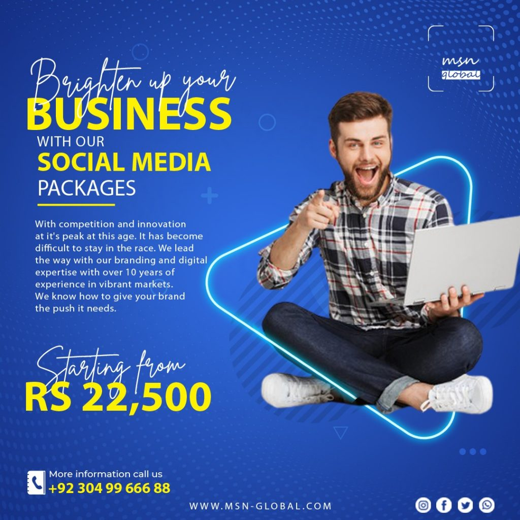 Social Media business pages